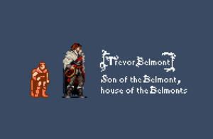 Trevor Belmont by RaghavAT