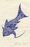 blue fish by sebhtml
