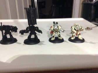 DeathWing Command Squad WIP by Genobee