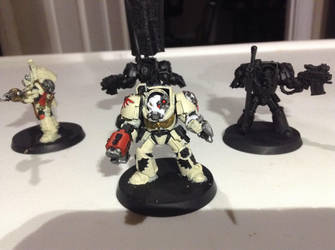 DeathWing Command Squad WIP 3 by Genobee