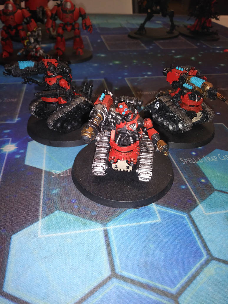 Kataphron Destroyers by Genobee