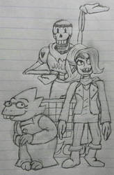 The Nerd, The Fish, The Bones, Oh My! by MetaKnuxX8