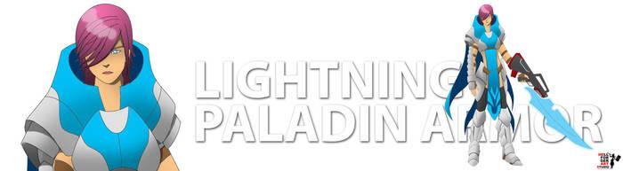 FFXIII - Lightning Paladin Armor by 13thBloodhound