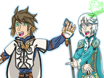Sorey and Mikleo by KawaiiMuzet