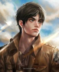 Eren Jaeger by artsbycarlos