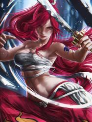 Erza Scarlet by artsbycarlos