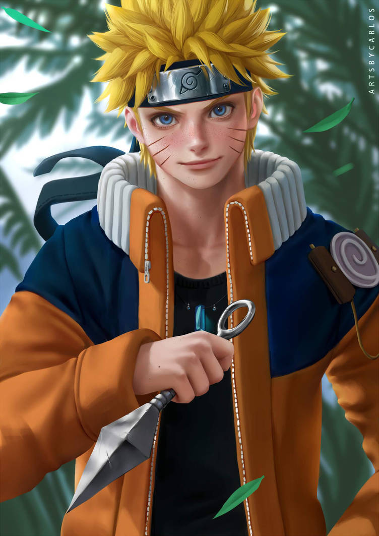 Naruto Uzumaki by artsbycarlos