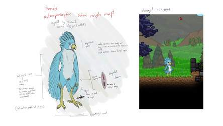 Xenquil Avian Concept by Limit1997