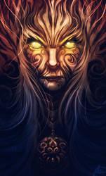 Warrior Of The Grim by Clazz-X1