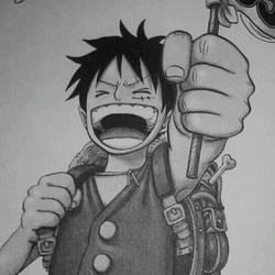 Luffy by XxLuffyNinjaxX