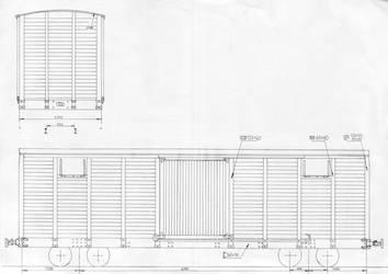 Old 17ton boxcar by Soobel