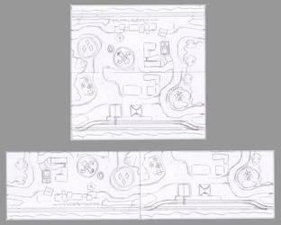 Ponyville H0 layout idea by Soobel