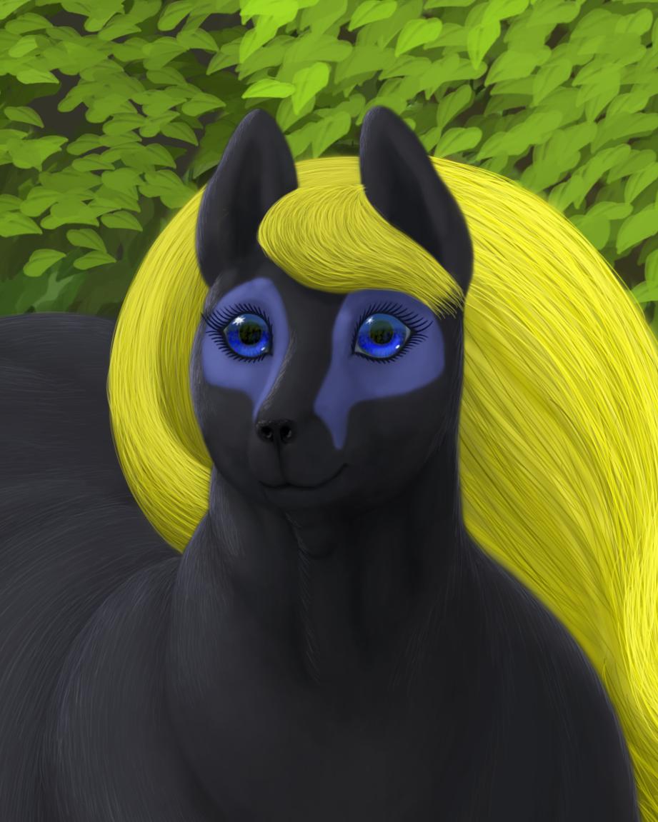 Blue eyes by Soobel