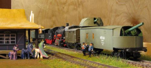 Armoured Train nr5 by Soobel