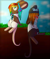 Two sides of my mouse by Alinylik