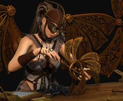 SteamPunk Progress 6 by LiviaZita