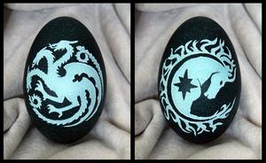 Targaryen and Dothraki by LiviaZita