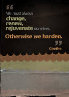 Humanity, Goethe by SkipDesign