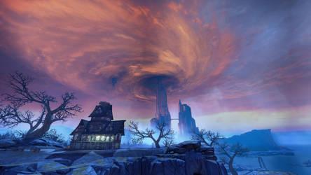 The Handsome Sorcerer's Castle by SlinkeyPoo
