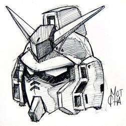 Gundam sketch by smotcha