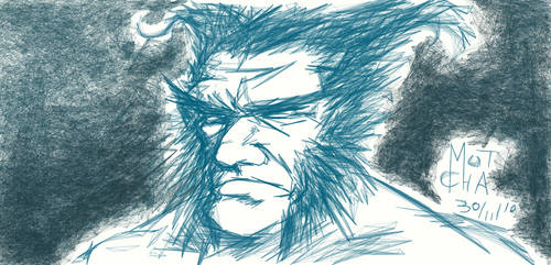 Wolverine sketch by smotcha