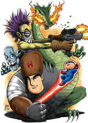 characters by smotcha