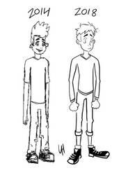 Character Redraw: ''IDK'' by Lorenmakesart