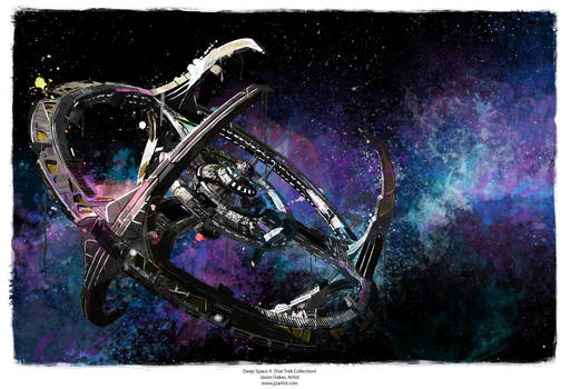 Deep Space 9 (Star Trek Collection) by j2Artist