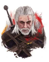 Geralt (Witcher 3) by j2Artist