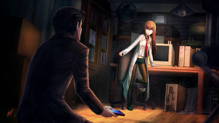 Steins Gate 0 -Antinomic Dual by RH-DArt