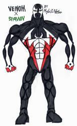 Venom X Spawn by KingDRagonZero