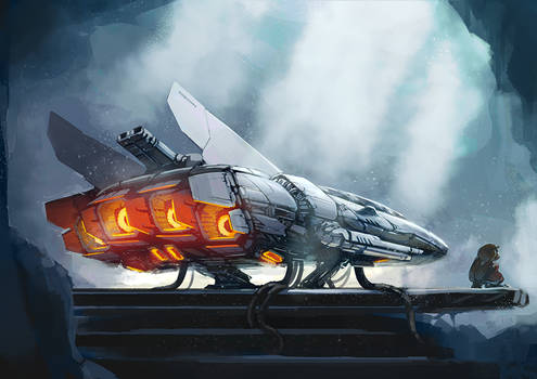 Keep the engines hot by Duiker