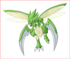 Real scyther by shinyscyther