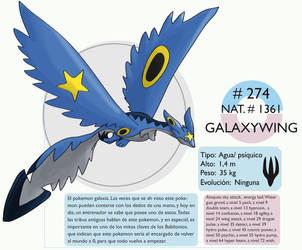 Pokemon Oryu 274 Galaxywing by shinyscyther
