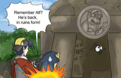 Ruins of Alf by shinyscyther