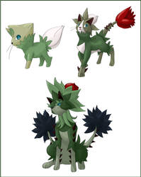 Fan game fakes 6 by shinyscyther
