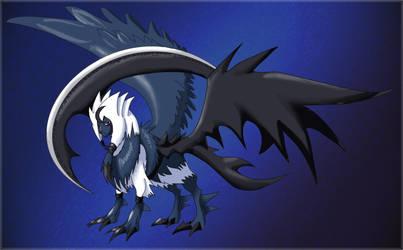 Legend evo contest2: Voidem by shinyscyther