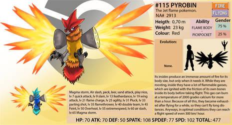 Najkadex 115 Pyrobin by shinyscyther