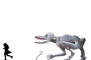 Indoraptor lockwoodi by Wyatt-Andrews-Art
