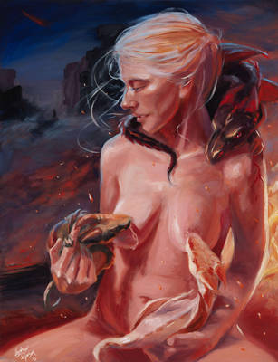 Mother of Dragons by lilwassu