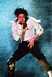 Michael Jackson: King of Pop by jacemathem
