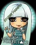 Lady Gaga - Poker Face by studiomarimo