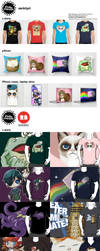T-shirts and other cool stuff for sale! by studiomarimo
