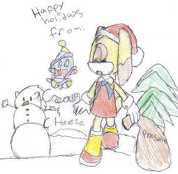 cream and cheese christmas by shinigamin