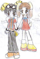 charmy and cream by shinigamin
