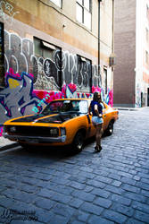 Daisy Duke in Melbourne by illused