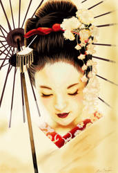 Geisha by Nar-Amarth