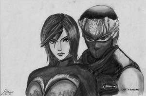 Requested: Xing Cai x Ryu Hayabusa by DIRTYBAD96