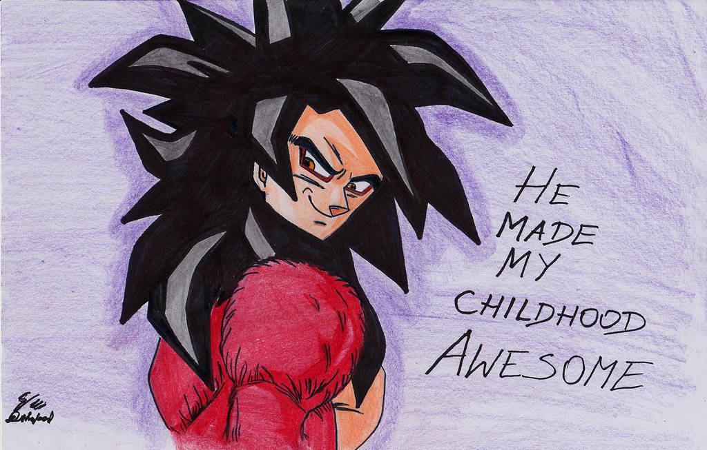Goku made my childhood awesome :) by DIRTYBAD96