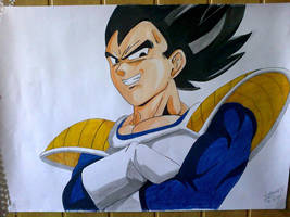 Vegeta by DIRTYBAD96
